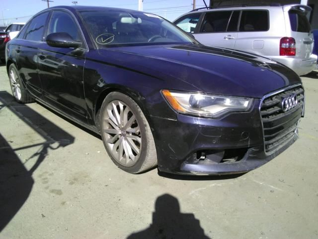 Salvage 2013 AUDI A6 - Small image. Lot 32366601