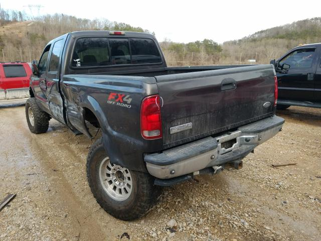 2005 FORD F250 SUPER - Right Front View