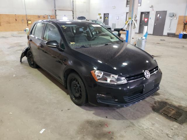 Salvage cars for sale from Copart Moncton, NB: 2017 Volkswagen Golf S
