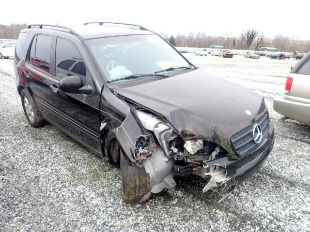 Salvage cars for sale from Copart Spartanburg, SC: 2000 Mercedes-Benz ML 430