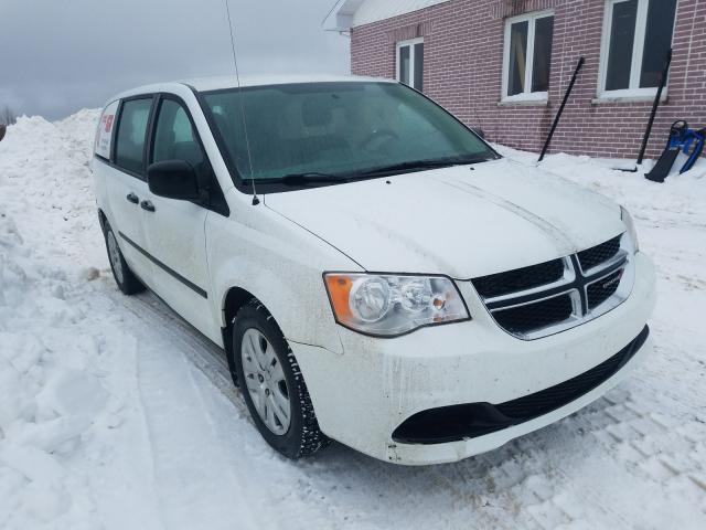 Salvage cars for sale from Copart Montreal Est, QC: 2014 Dodge Grand Caravan