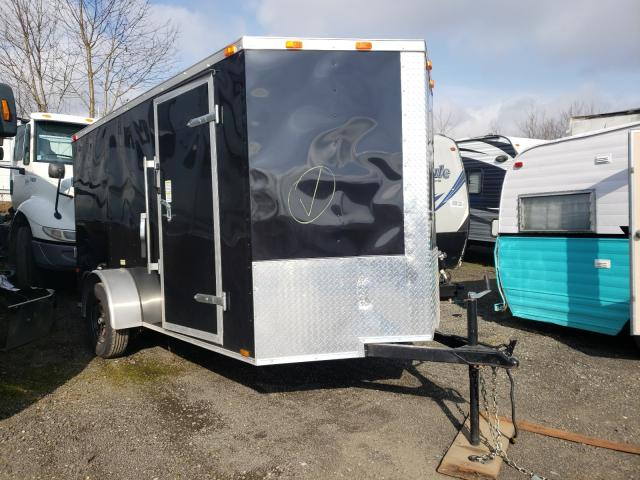 Cargo salvage cars for sale: 2021 Cargo Utility Trailer