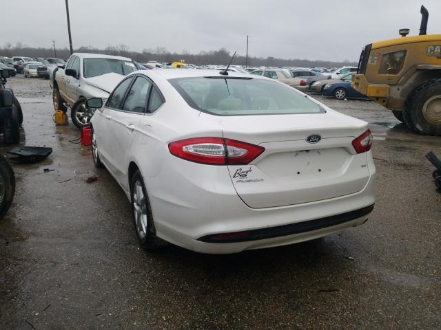 2014 FORD FUSION SE - Right Front View