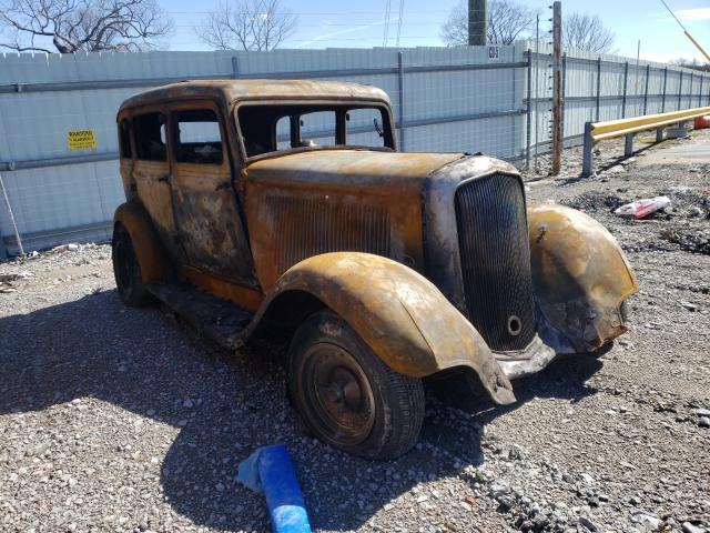 Plymouth salvage cars for sale: 1933 Plymouth Plymouth