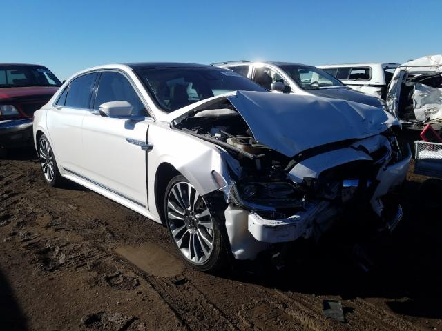 Salvage cars for sale from Copart Brighton, CO: 2018 Lincoln Continental