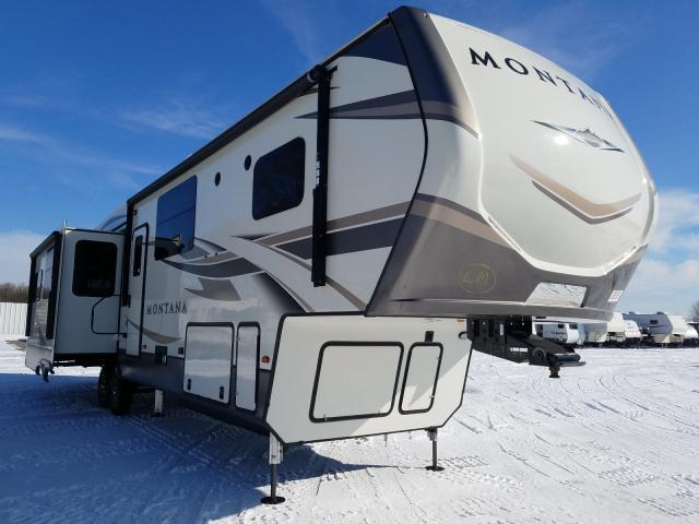 Keystone Montana salvage cars for sale: 2020 Keystone Montana