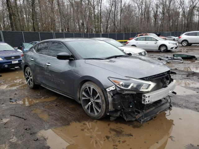 Salvage cars for sale from Copart Waldorf, MD: 2018 Nissan Maxima 3.5