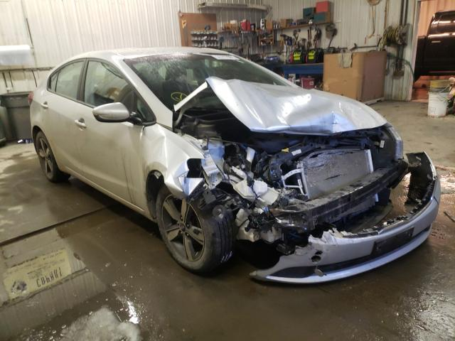 Salvage cars for sale from Copart Avon, MN: 2018 KIA Forte LX