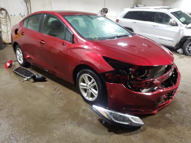 Salvage 2017 CHEVROLET CRUZE - Small image. Lot 35154011