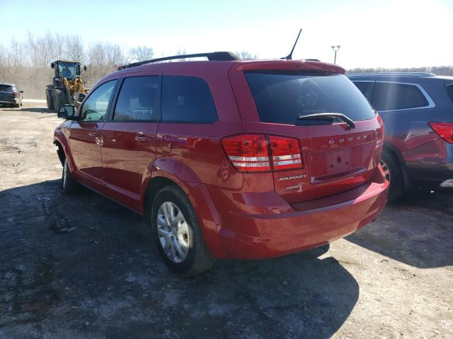 2016 DODGE JOURNEY SE - Right Front View