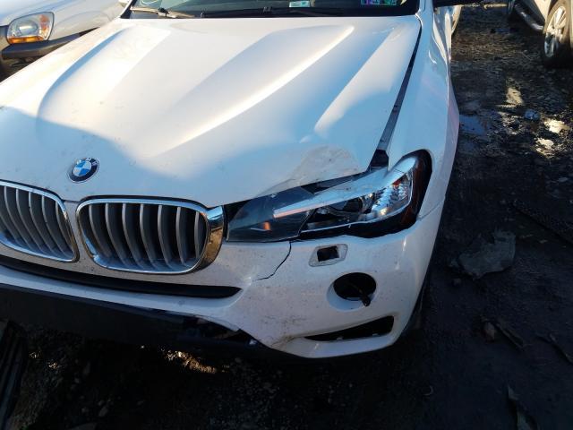 2016 BMW X3 XDRIVE2 5UXWX9C51G0D84951