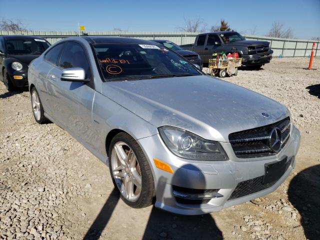 2012 Mercedes-Benz C 250 en venta en Kansas City, KS