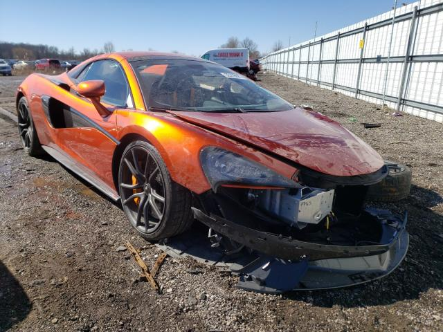 Salvage cars for sale from Copart Columbia Station, OH: 2019 Mclaren Automotive 570S
