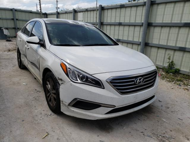 Salvage cars for sale from Copart Homestead, FL: 2016 Hyundai Sonata SE
