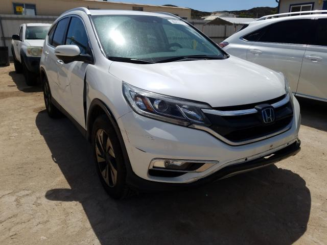 Salvage cars for sale from Copart Kapolei, HI: 2016 Honda CR-V Touring
