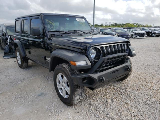 Salvage cars for sale from Copart Homestead, FL: 2020 Jeep Wrangler U