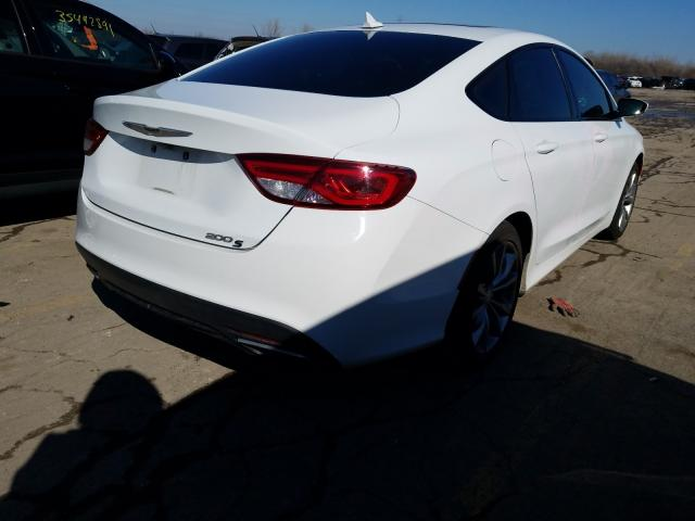2015 CHRYSLER 200 S - Right Rear View