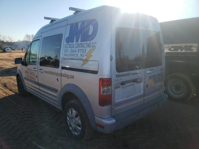 2012 FORD TRANSIT CO - Right Front View
