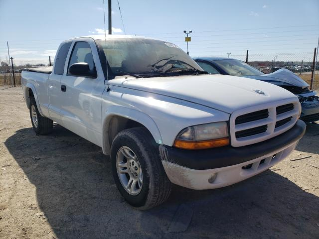 Salvage cars for sale from Copart Indianapolis, IN: 2003 Dodge Dakota Sport