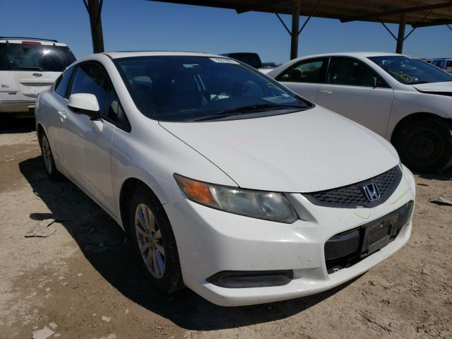 Salvage cars for sale from Copart Temple, TX: 2012 Honda Civic EX