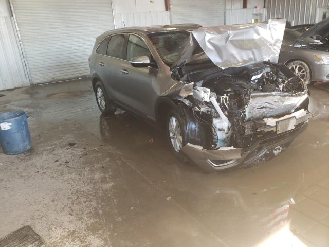 Salvage cars for sale from Copart Albany, NY: 2018 KIA Sorento LX