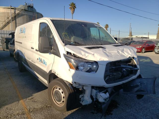Salvage cars for sale from Copart Wilmington, CA: 2019 Ford Transit T