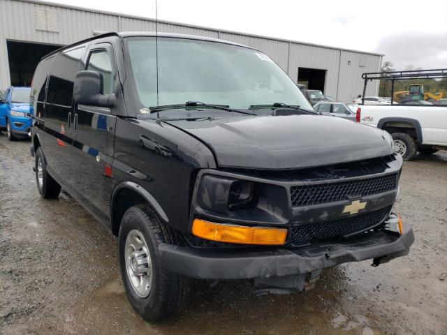 Salvage cars for sale from Copart Jacksonville, FL: 2013 Chevrolet Express G2