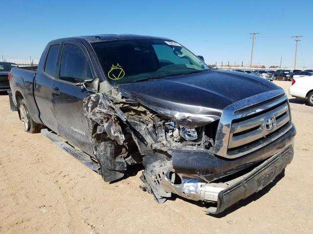 Salvage cars for sale from Copart Andrews, TX: 2013 Toyota Tundra DOU