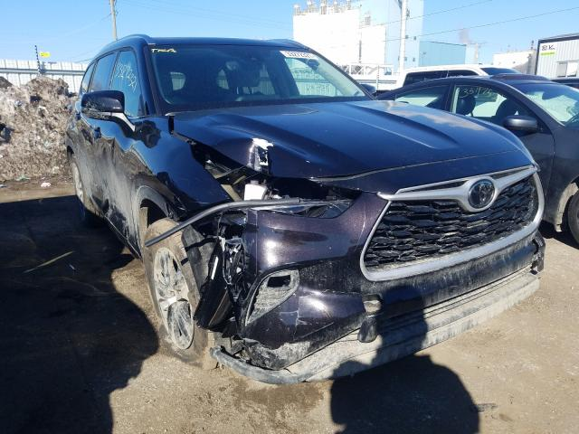 Vehiculos salvage en venta de Copart Chicago Heights, IL: 2021 Toyota Highlander