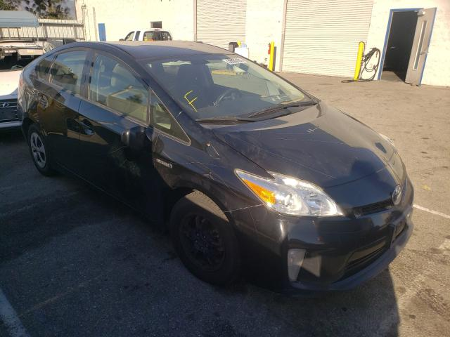 Salvage cars for sale from Copart Rancho Cucamonga, CA: 2015 Toyota Prius