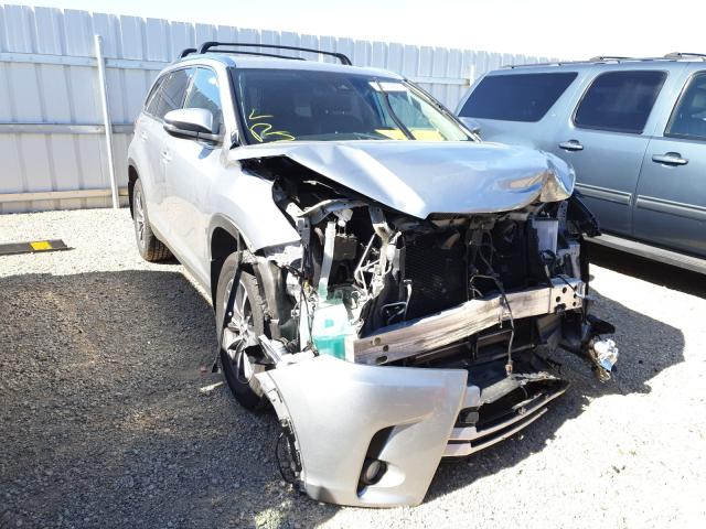 Salvage cars for sale from Copart Anderson, CA: 2019 Toyota Highlander