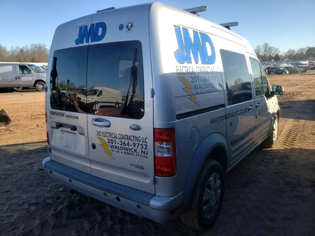 2012 FORD TRANSIT CO - Right Rear View