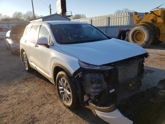Salvage cars for sale from Copart Wichita, KS: 2020 Hyundai Santa FE S