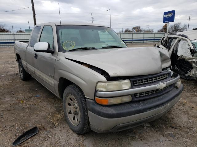 Salvage cars for sale from Copart Corpus Christi, TX: 2002 Chevrolet Silverado