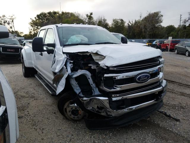 Ford F350 salvage cars for sale: 2021 Ford F350
