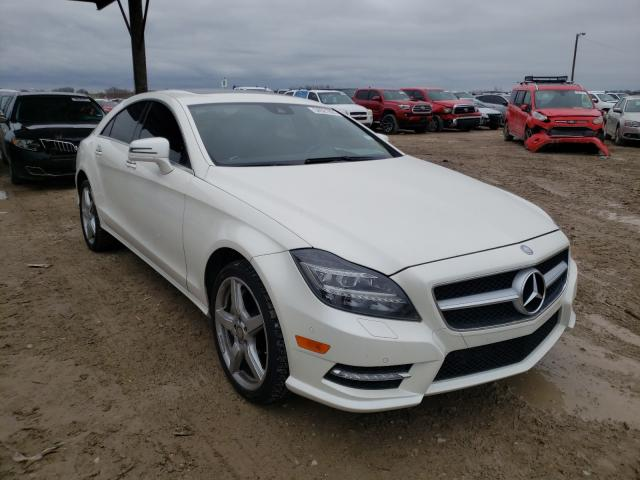 Salvage cars for sale from Copart Temple, TX: 2014 Mercedes-Benz CLS 550