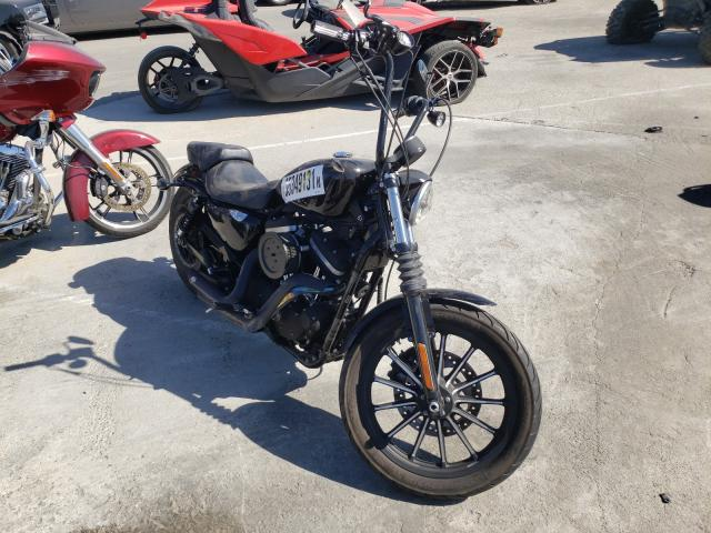 Salvage cars for sale from Copart Sun Valley, CA: 2014 Harley-Davidson XL883 Iron