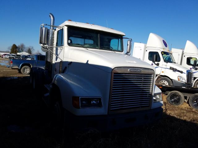 Salvage cars for sale from Copart Cicero, IN: 1998 Freightliner Convention
