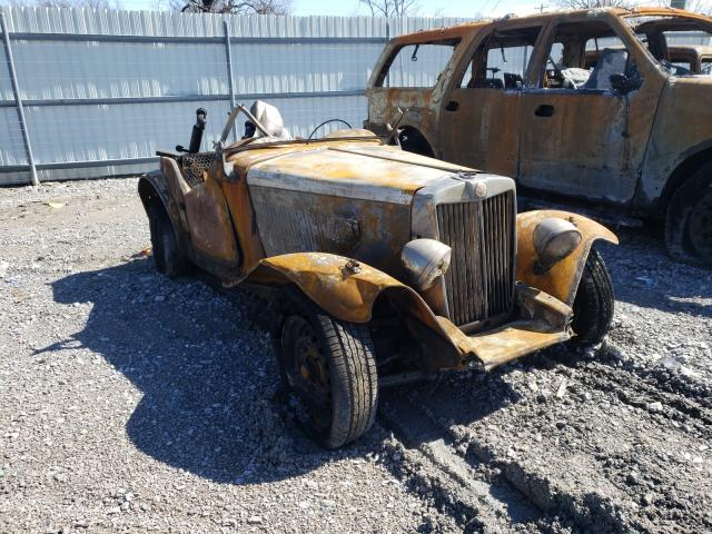 MG salvage cars for sale: 1952 MG Car