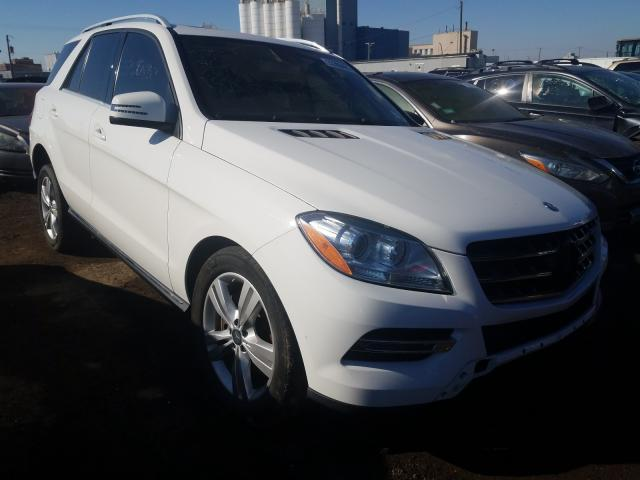 Mercedes-Benz salvage cars for sale: 2015 Mercedes-Benz ML 350 4matic
