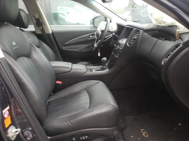 2008 INFINITI EX35 BASE - Left Rear View