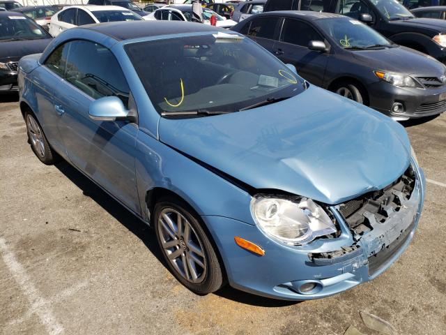 Salvage cars for sale from Copart Rancho Cucamonga, CA: 2008 Volkswagen EOS LUX