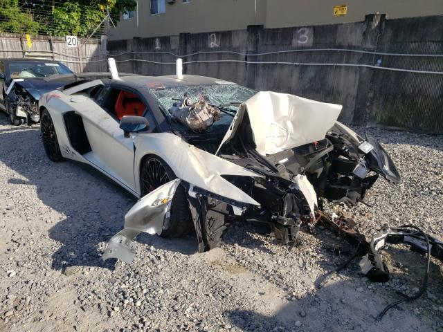 Lamborghini salvage cars for sale: 2017 Lamborghini Aventador
