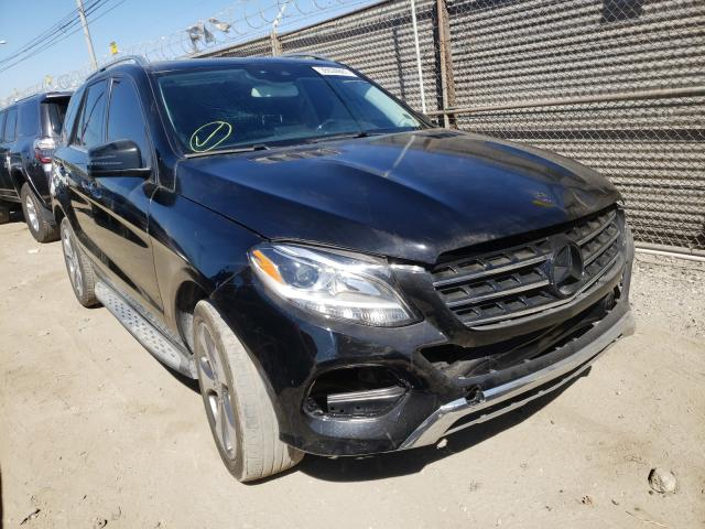Mercedes-Benz salvage cars for sale: 2016 Mercedes-Benz GLE 350