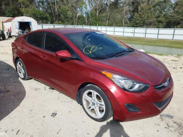 Salvage cars for sale from Copart Ocala, FL: 2013 Hyundai Elantra GL