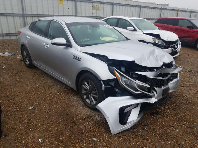 Salvage cars for sale from Copart Mercedes, TX: 2019 KIA Optima LX