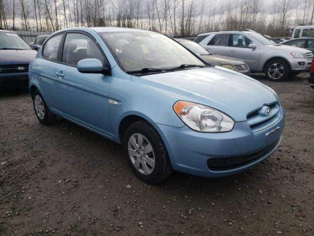 Salvage cars for sale from Copart Arlington, WA: 2010 Hyundai Accent BLU