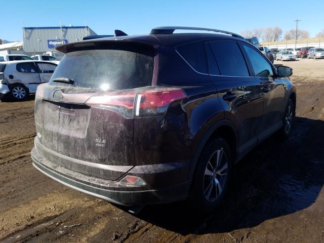 2017 TOYOTA RAV4 XLE - Right Rear View