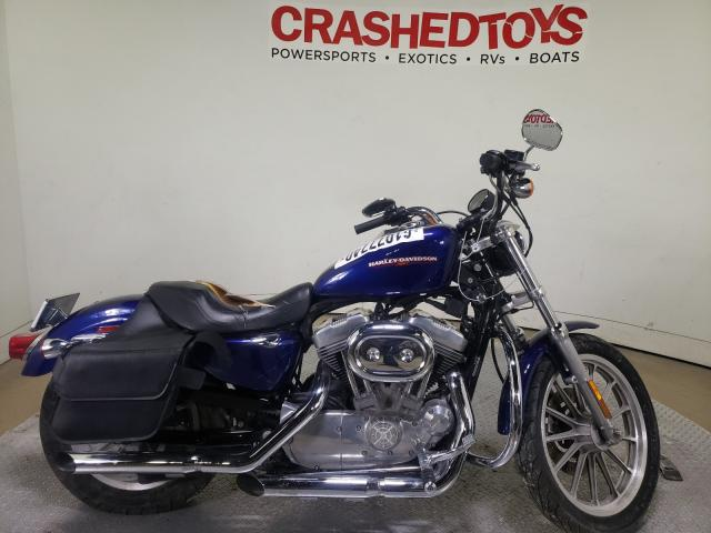 Harley-Davidson XL883 L salvage cars for sale: 2006 Harley-Davidson XL883 L