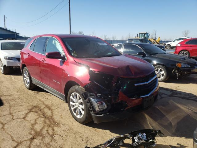 Salvage cars for sale from Copart Pekin, IL: 2018 Chevrolet Equinox LT